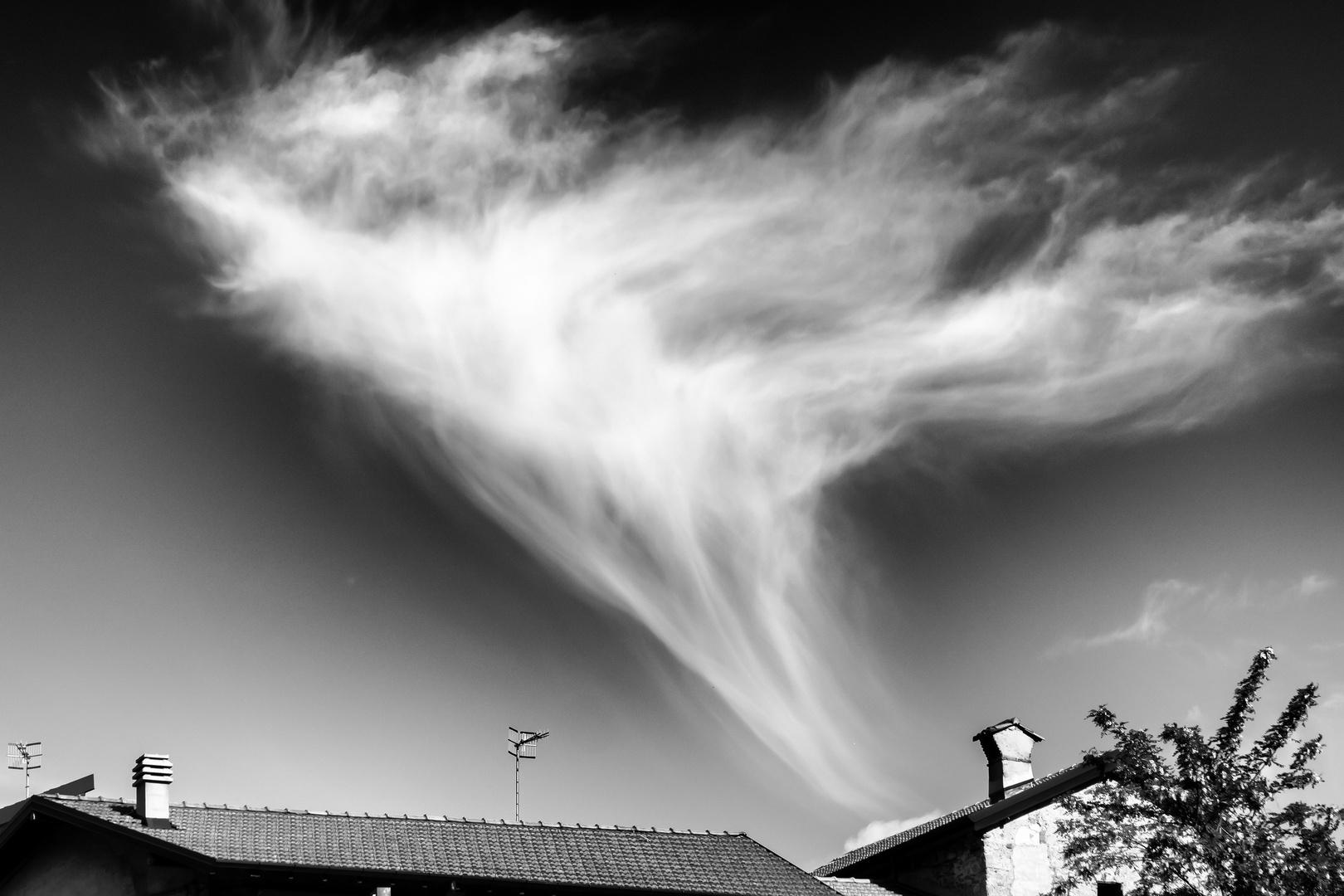 Nuvola su Castello