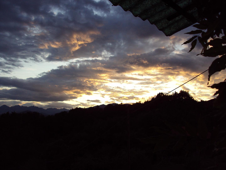 nuvole a Oropa