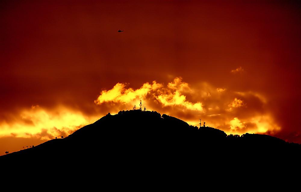 Nuvole di fuoco