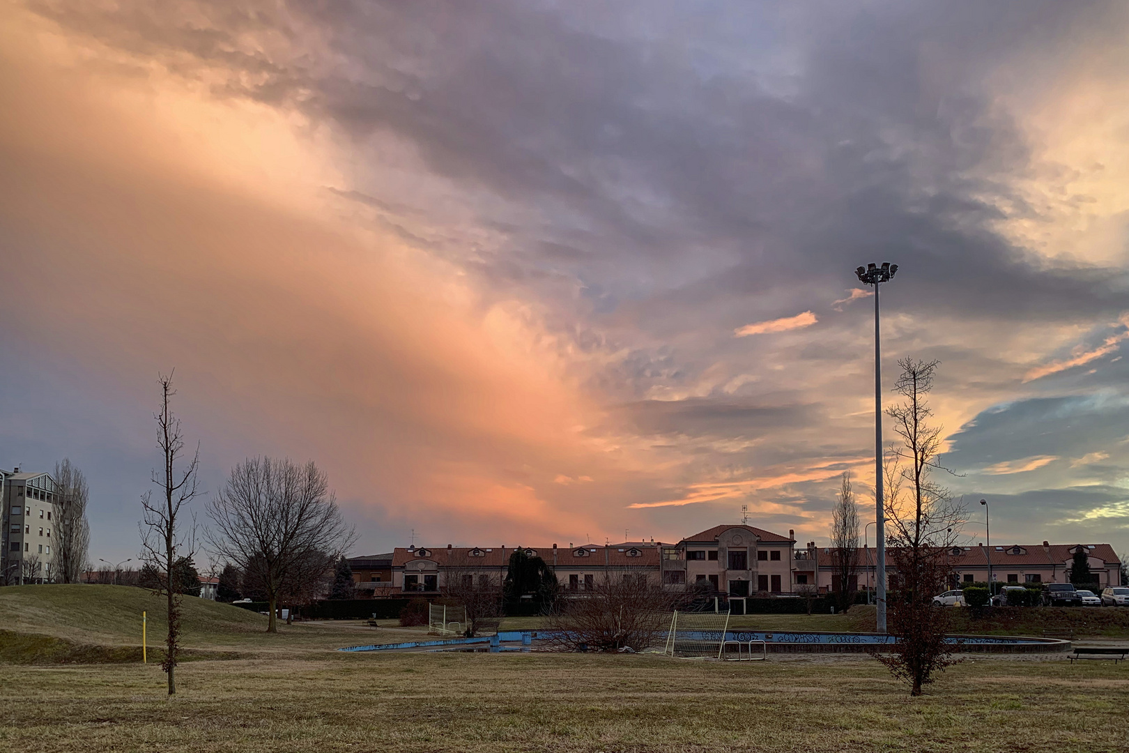 Nuvole rosse