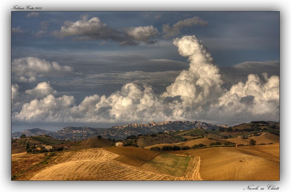 Nuvole su Chieti