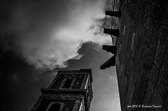 Nuvole su Santa Chiara
