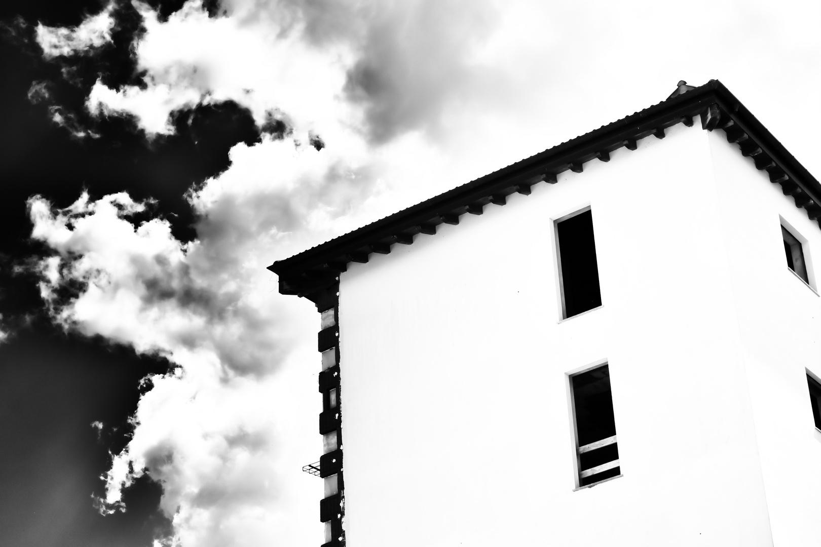 Nuvole sui tetti
