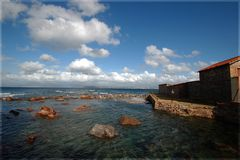 nuvole sull'isola piana