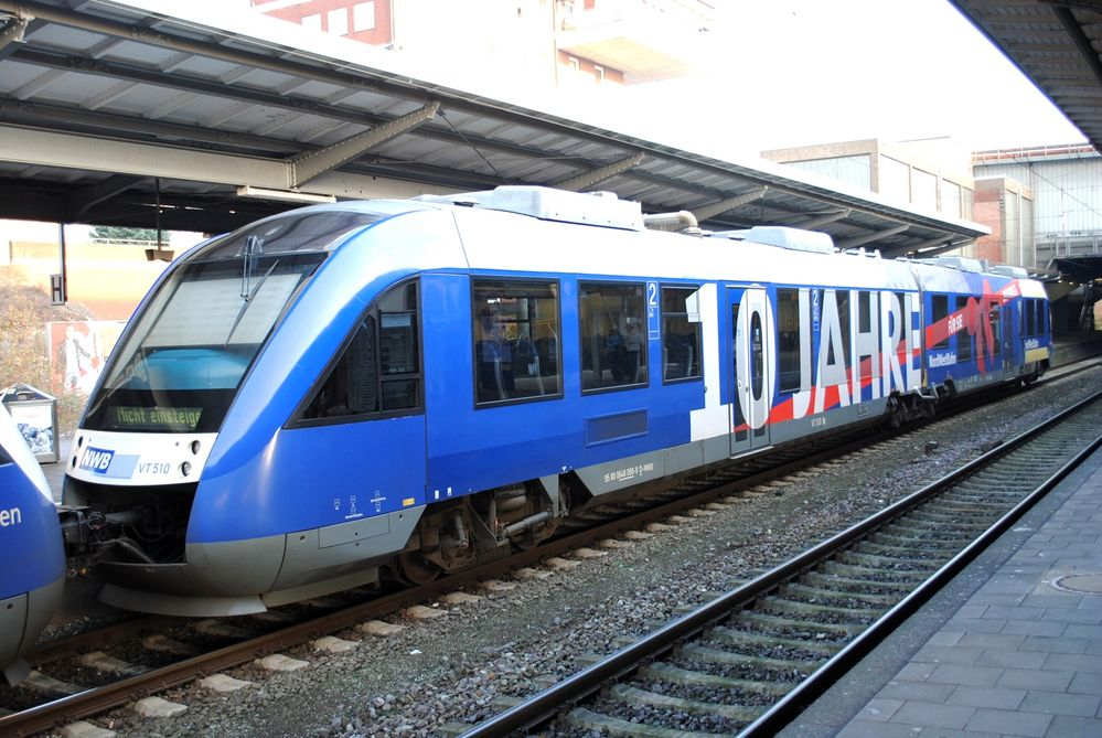 """NWB VT510 """"10 Jahre Nordwestbahn"""""""
