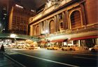 NY Central Station at night (600dpi scan)