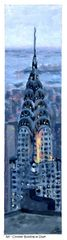 NY Chrysler Building at Dusk