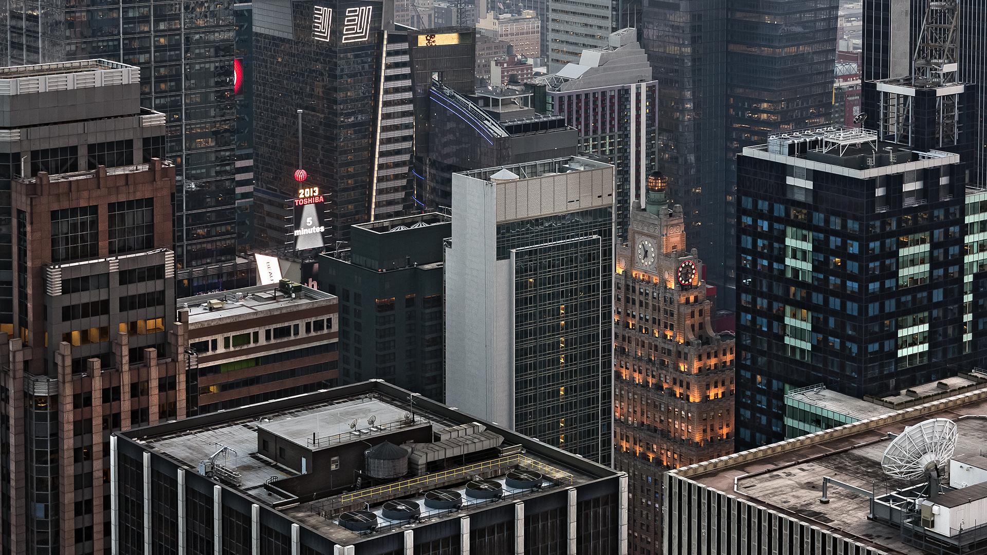 NY CITY - KNOCKING-OFF TIME