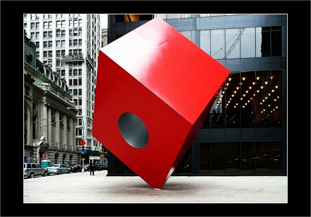NY cube