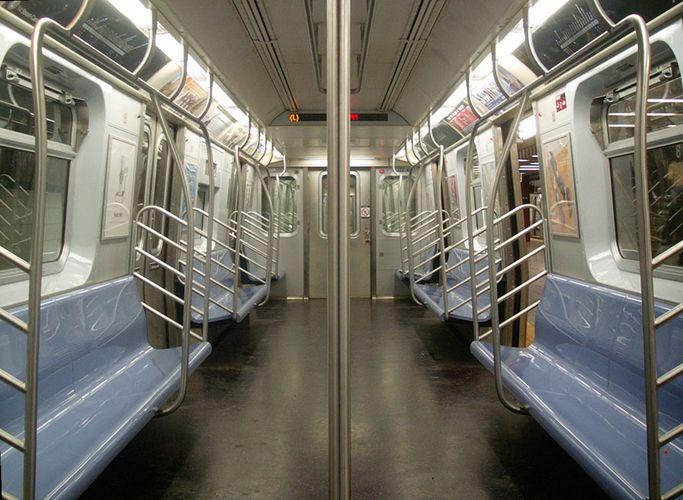 NY E-Train (e wie empty ?!)