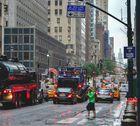 NY im Regen