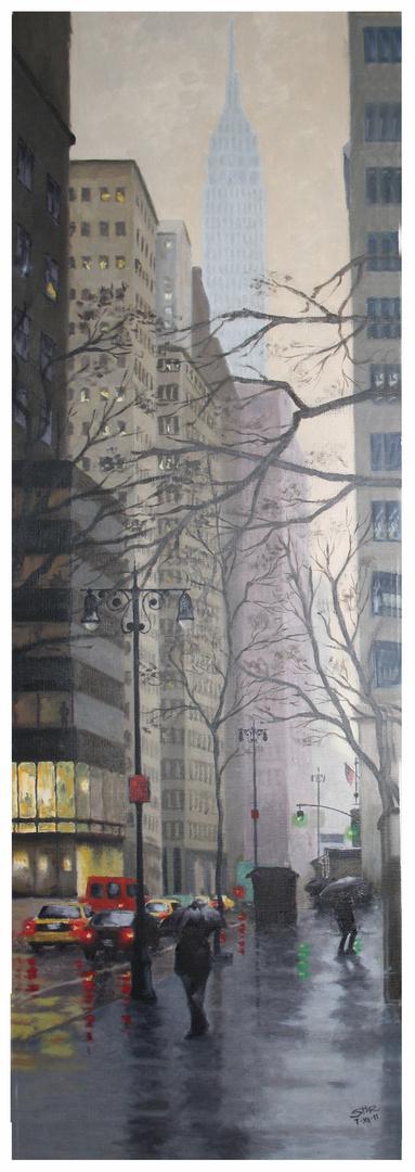 NY in the Rain II