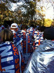 NY Marathon - the end