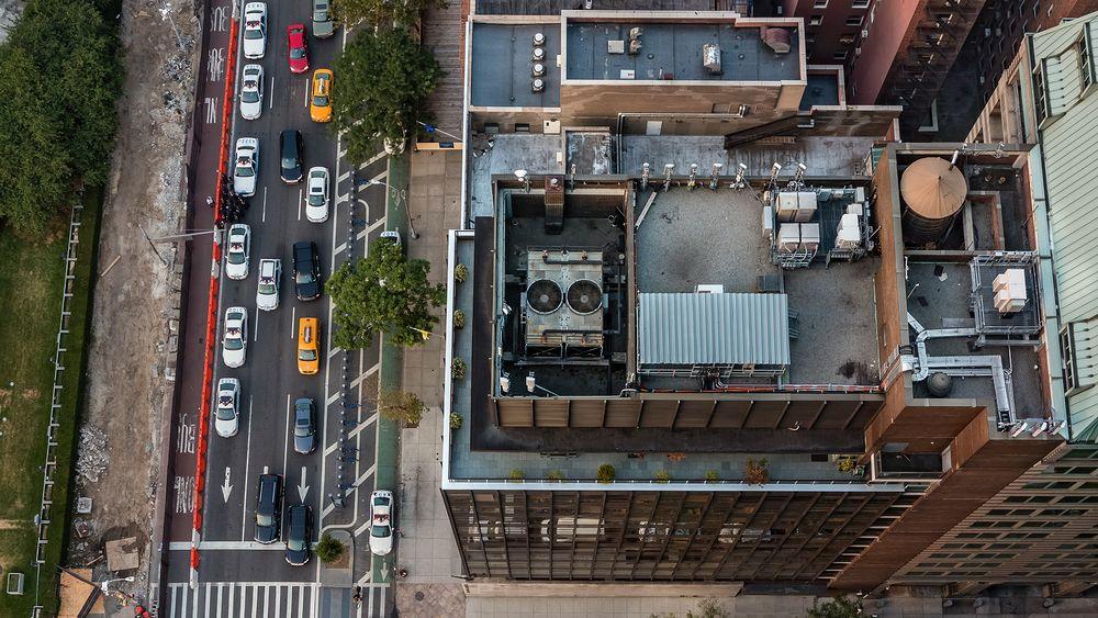 NY MIDTOWN - Dachlandschaften