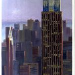 NY - Türme/Towers: Empire State after a photo of R. Burns