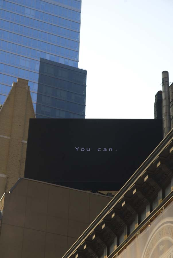 """NYC 5 = """" YES YOU CAN"""""""