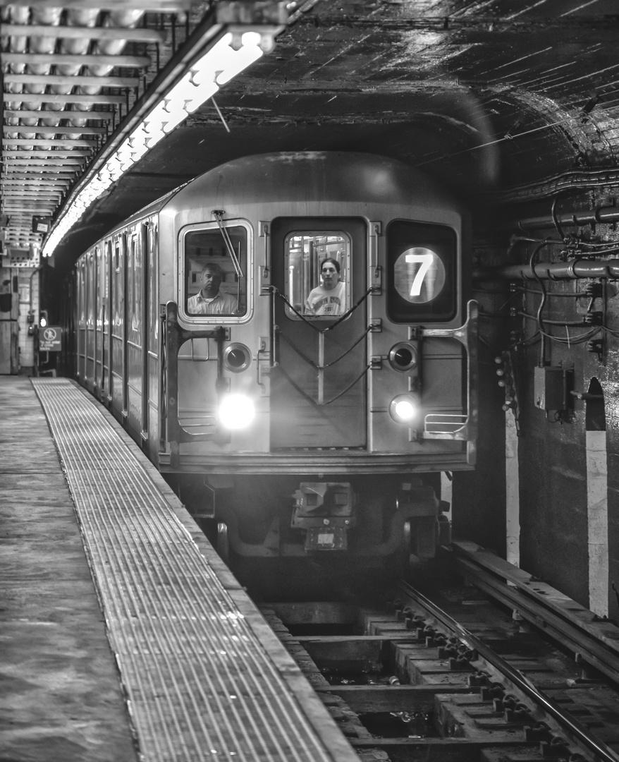 NYC B & W 210