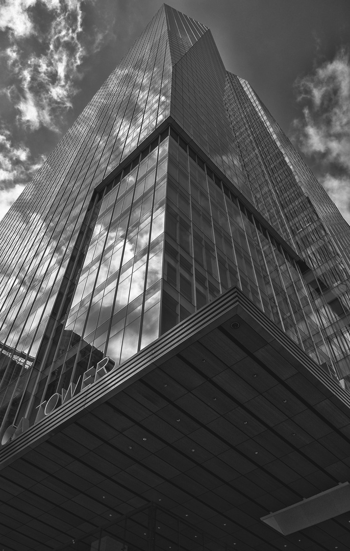 NYC B & W 524 Bank of America Tower