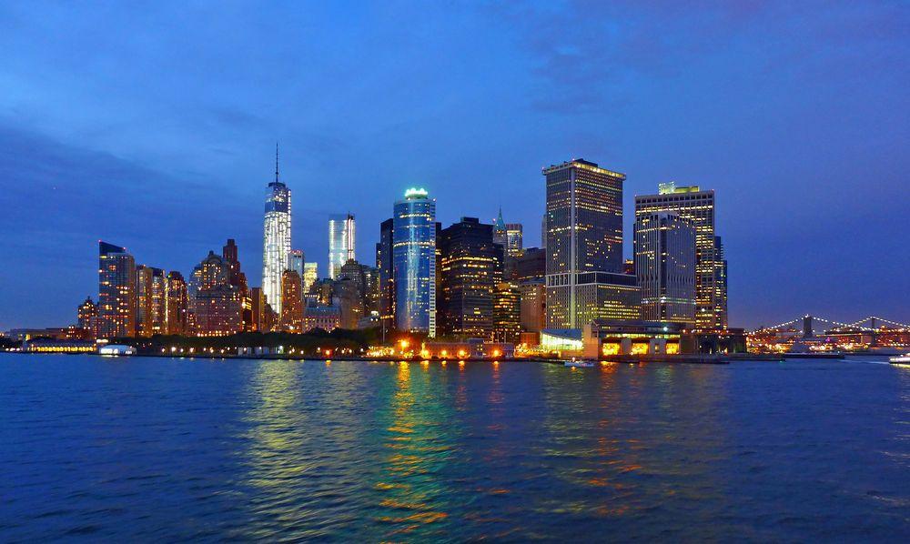 NYC bei Nacht ...
