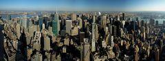 NYC - Blick vom ESB nach Norden