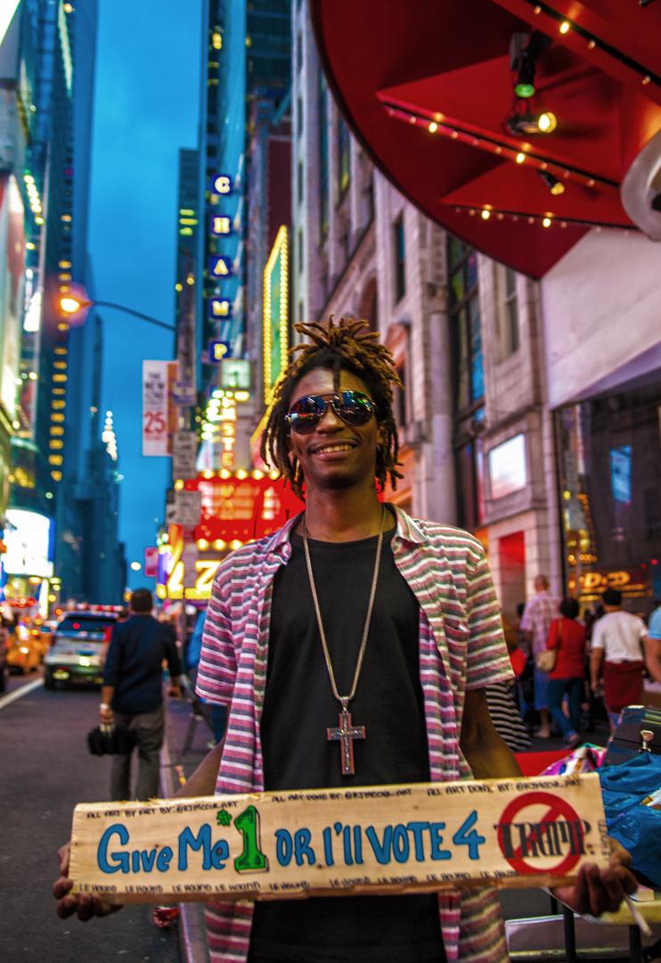 NYC: Für einen guten Zweck !