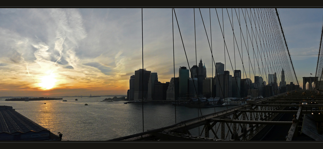 ** NYC - Hinter Gittern **
