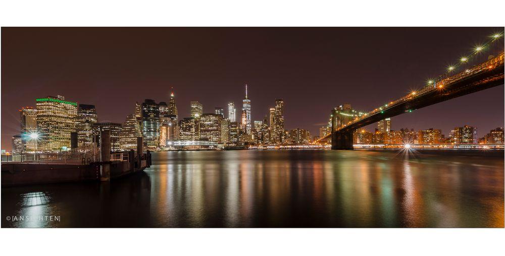 [NYC - skyline night 01]