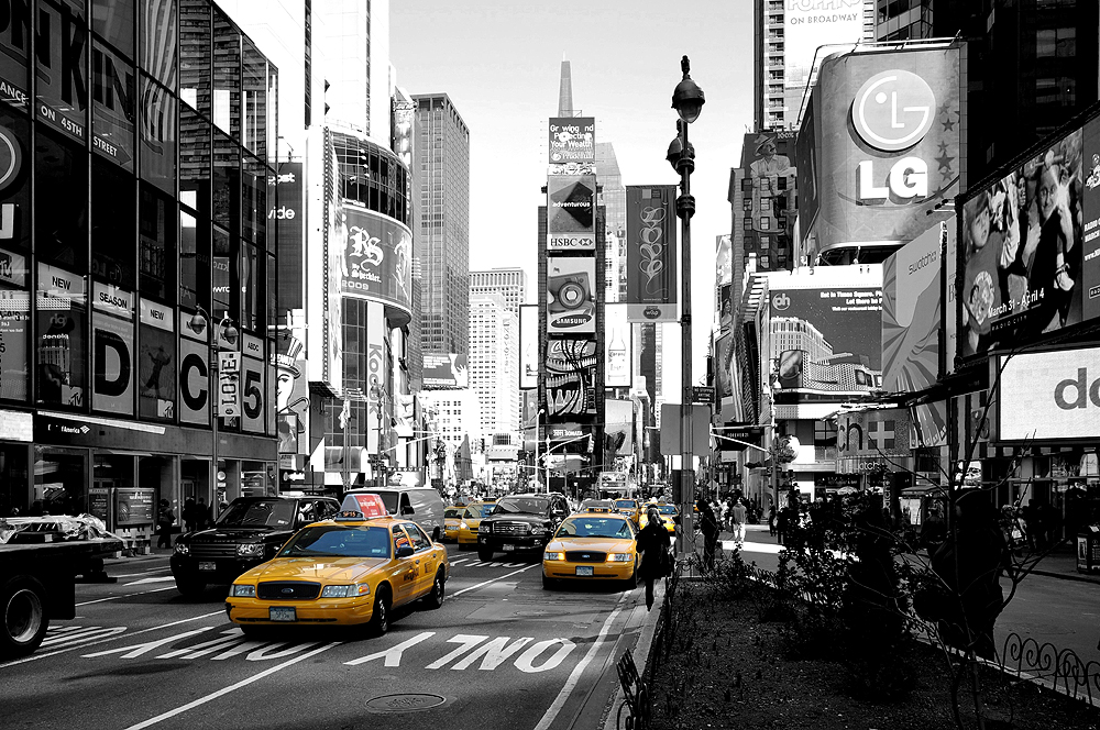 NYC TAXI @ Times Square (1)