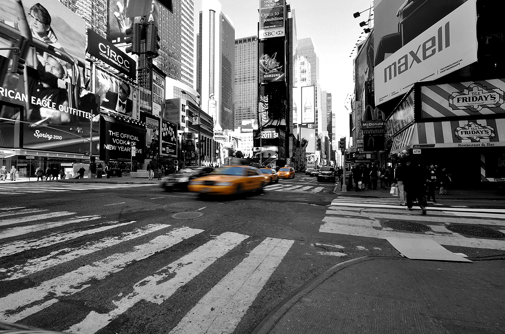 NYC TAXI @ Times Square (2)