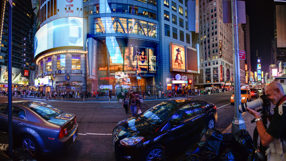 NYC - Very Busy