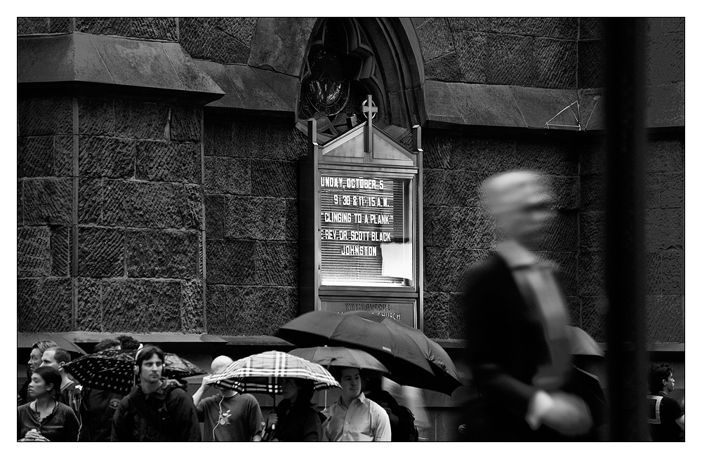 NYC XX - Kirchenflucht