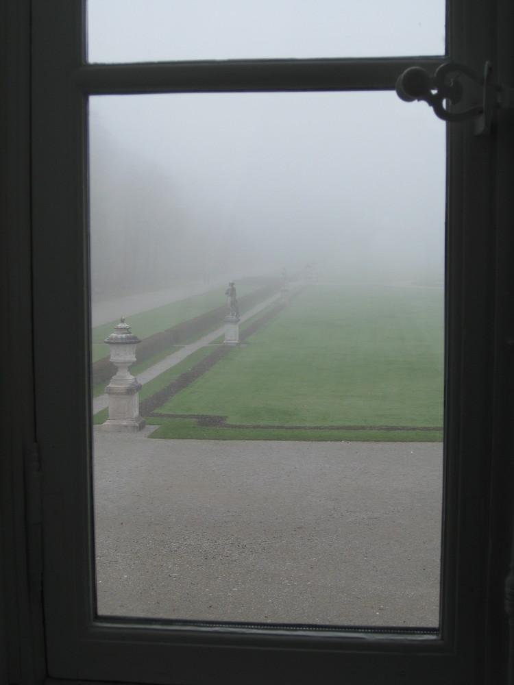 Nymphen im Nebel