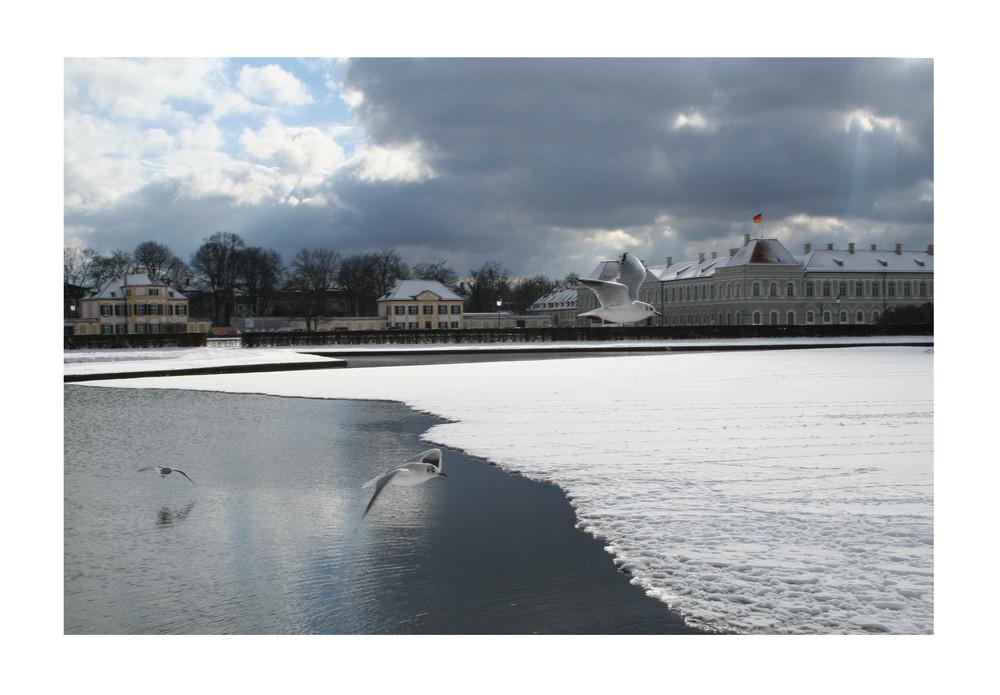 Nymphenburg im Februar