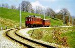 Nyon-St.Cergue-Morez - Eisenbahnbiotop in der Westschweiz