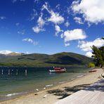NZ Der Lake Te Anau