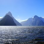 NZ Einfahrt in den Milford Sound