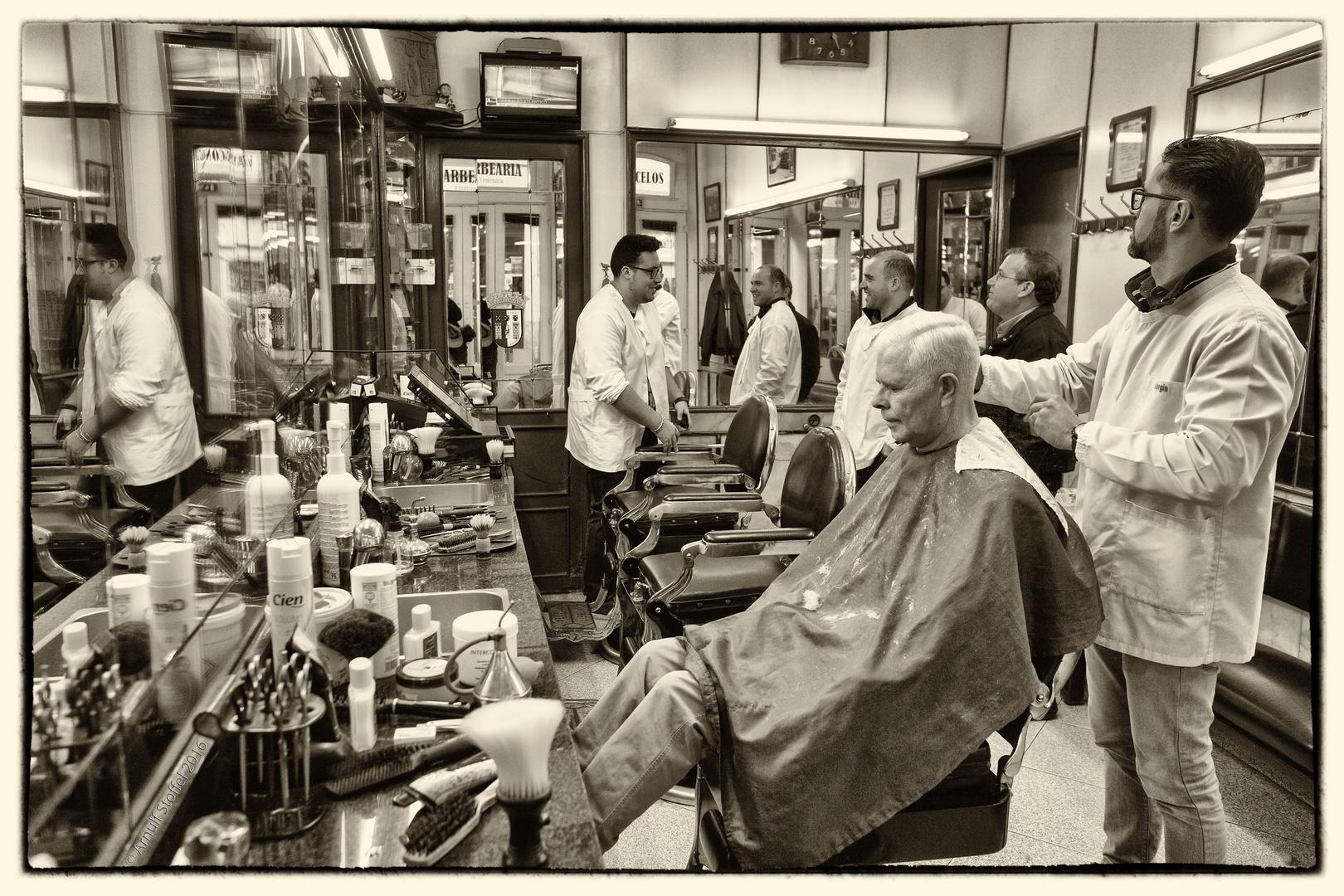 O Barbeiro em Braga