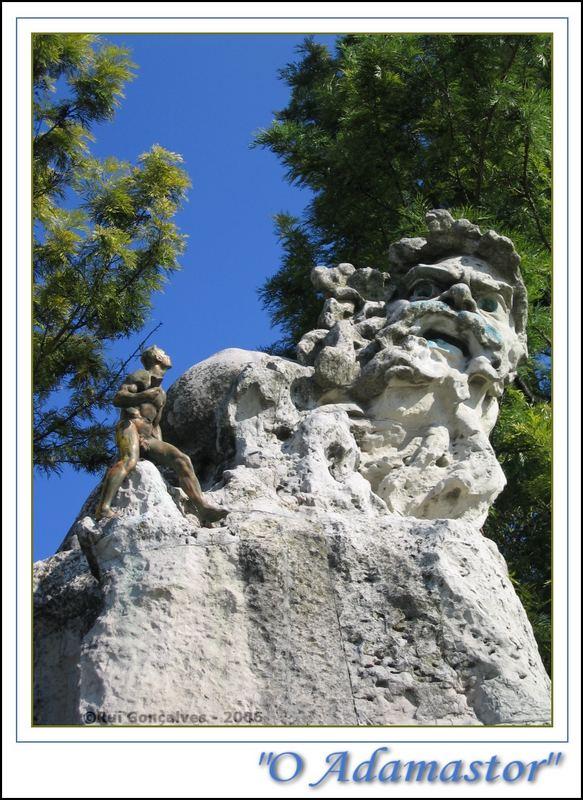 O Gigante Adamastor - Statue - Lisbon