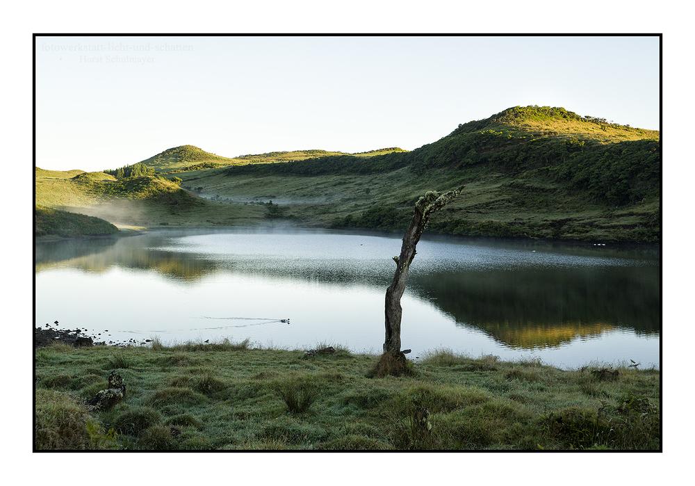 O lago solitário