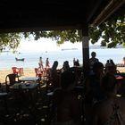 O melhor de Paraty, cafe da manhã com os pes na praia