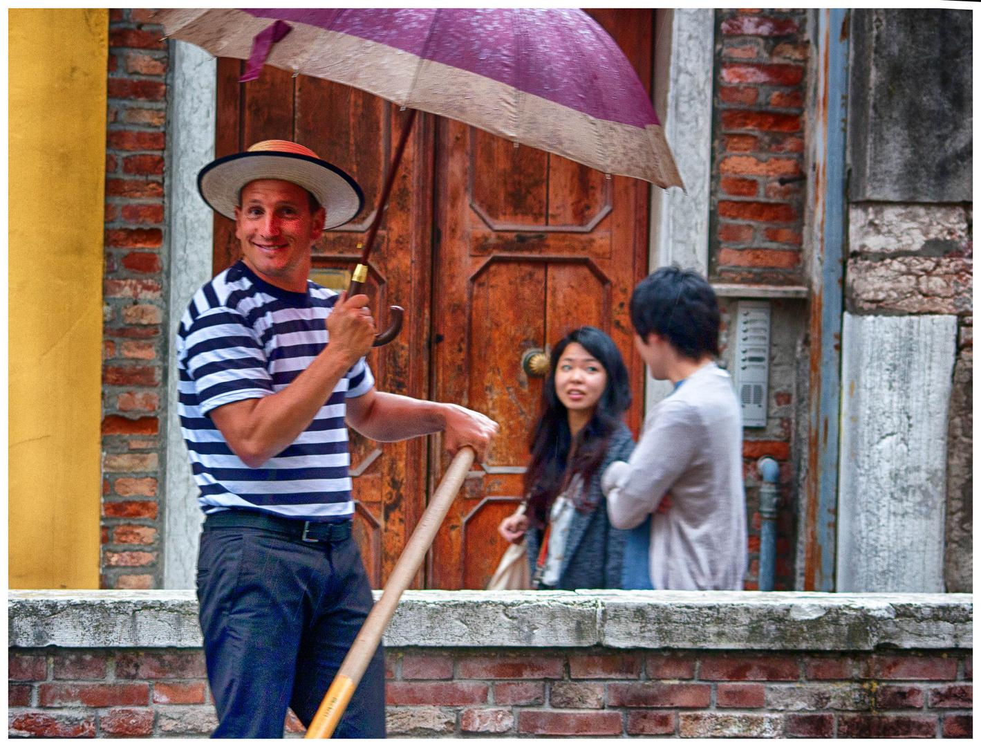 O ombrello mio!
