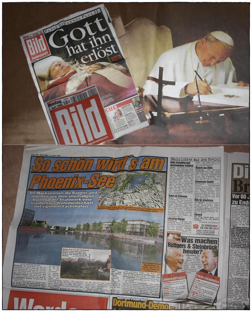 o4.April 2005 - Bildzeitung