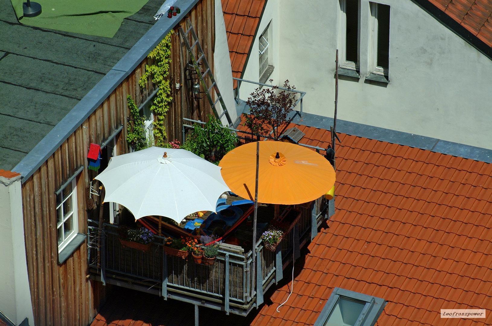 Oase In Der Dacherlandschaft Foto Bild The Very Best Balkon
