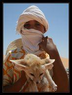 Oasi azzurre del deserto (Il Piccolo Principe e la sua volpe)