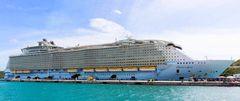OASIS OF THE SEAS besucht die Virgin Islands