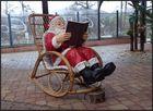 Ob das mit dem Weihnachtsmann...