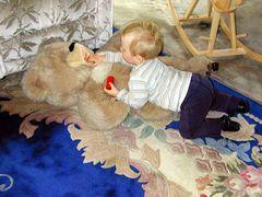 Ob der Bär Hunger hat?