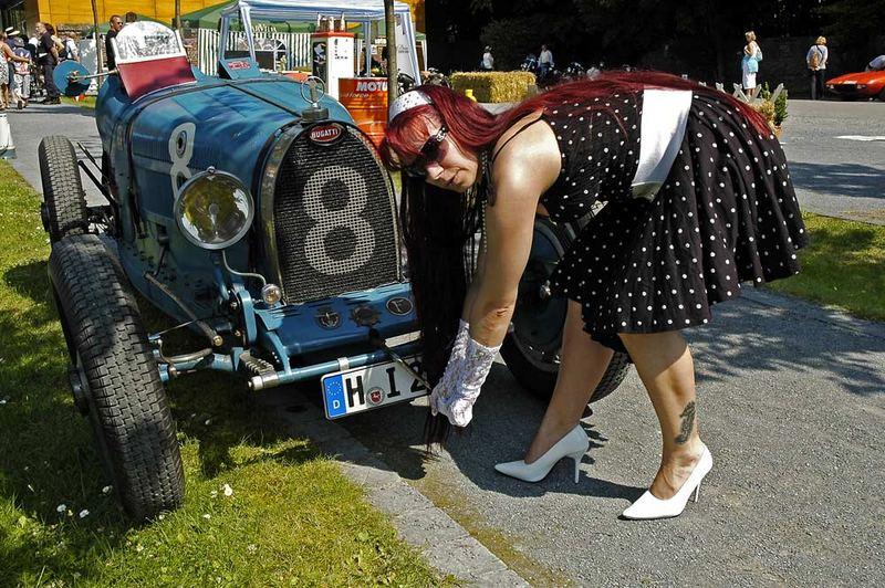 Ob der Bugatti noch anspringt?