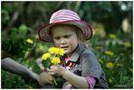 Ob meine Mama sich über die Blumen freut??....