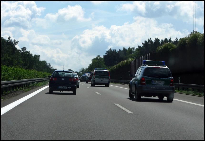 Obama Dresden 1 oder Traurige Polizei...